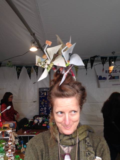 wind power hairdo