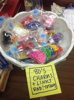 80s charms and bracelets